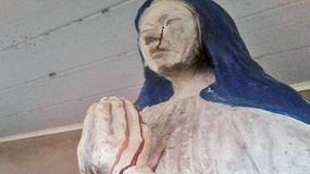 Figura Matki Boskiej w Boliwii płacze krwawymi łzami