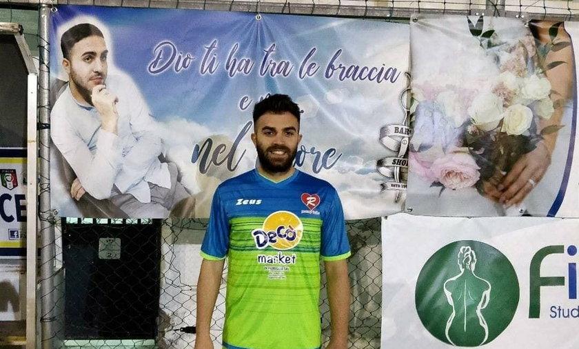 Giuseppe Perrino nie żyje. Piłkarz zmarł na zawał w czasie meczu