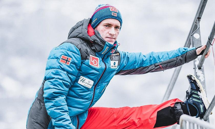 Anders Fannemel wrócił na skocznię