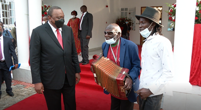 90-year-old's dream comes true after he got private audience with Uhuru [Video]