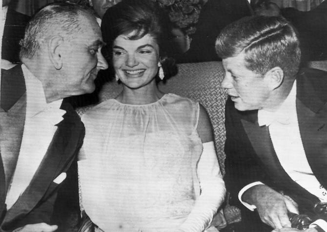 Džeki Kenedi 1961. na balu u Vašingtonu