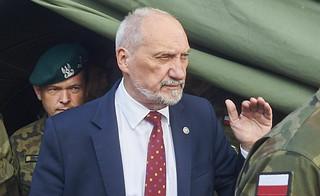Macierewicz o pomocy wojska po nawałnicach: Reagujemy na zapotrzebowanie samorządów