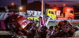 Wypadek ciężarówki na obwodnicy Lublina