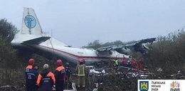 Awaryjne lądowanie samolotu we Lwowie. Są ofiary