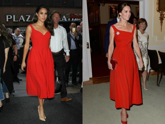 Svi primećuju da se njih dve veoma slično oblače: Da li to Megan kopira Kejt?