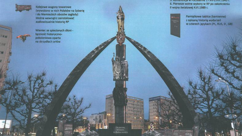 Połączyć Matkę Boską z sowieckim pomnikiem? Jest taki pomysł