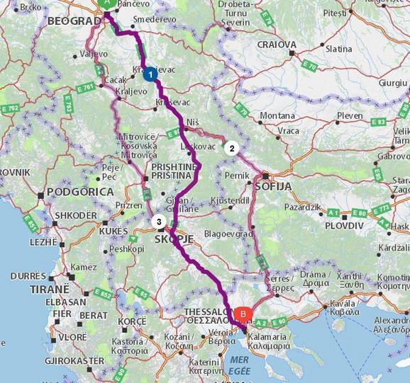 Put preko Makedonije