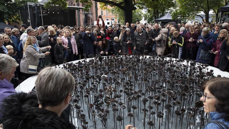Pomnik Żelazne Róże w Oslo