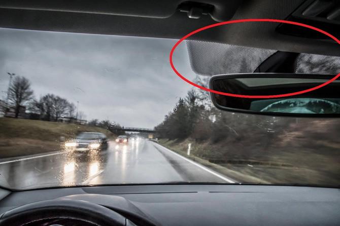 Da li znate čemu služi ovaj detalj na šoferšajbni?
