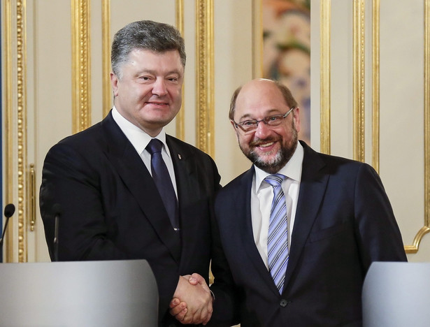 Przewodniczący Parlamentu Europejskiego dodał, że działania wojenne na wschodzie Ukrainy mogą utrudniać ukraińskim władzom przeprowadzanie reform w ich kraju