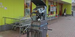 Ktoś wysadził bankomat