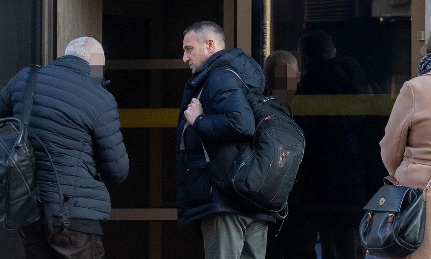 Robert Śmigielski przyjechał na przesłuchanie do Prokuratury