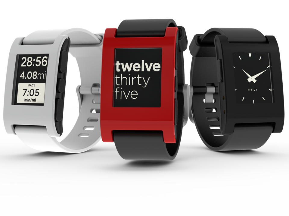 2. Pebble E-Watch