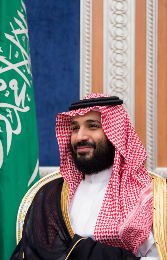 Krunski princ Saudijske Arabije Mohamed bin Salman