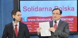 Szantażują PO. Solidarna Polska stawia warunki