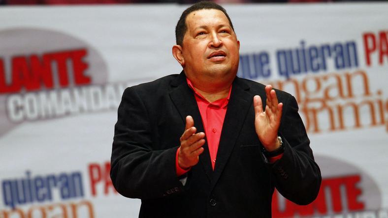 Hugo Chavez, fot. Reuters