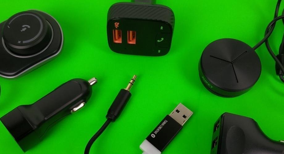 Vier KFZ-Bluetooth-Transmitter im Vergleichstest