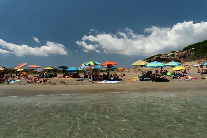 Plaža u Italiji sredinom ovog meseca (Noto)