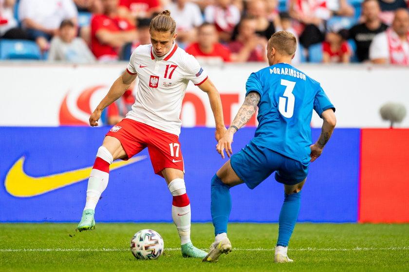 Przemysław Płacheta to jeden z wybranków Paulo Sousy na Euro 2020