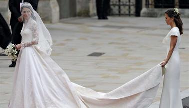 4d19de985c Suknia ślubna Kate Middleton! FOTO