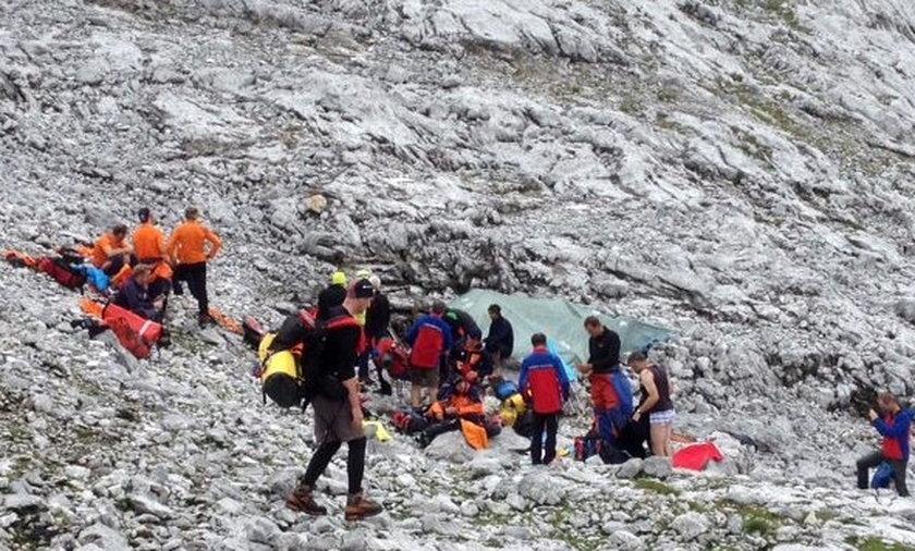 Polak uwięziony w jaskini. Ewakuacja potrwa kilka dni