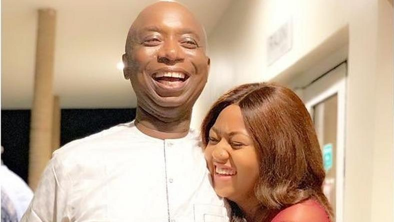Image result for happy photos of regina and ned nwoko