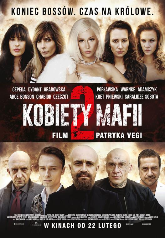 """""""Kobiety mafii 2"""" - oficjalny plakat do filmu"""