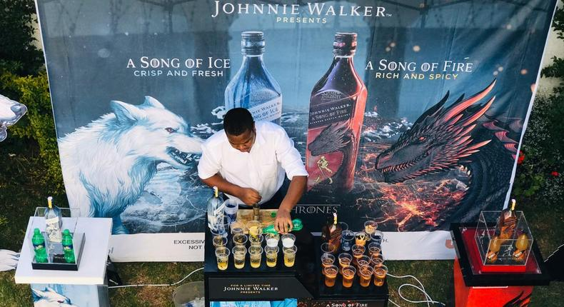 Johnnie Walker storms Pulse Live office with A Song of Ice and Fire treat