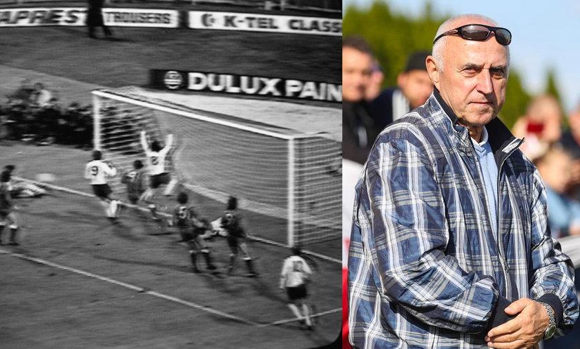 Jan Domarski na Wembley zdobył jedną z najważniejszych bramek w historii polskiej piłki
