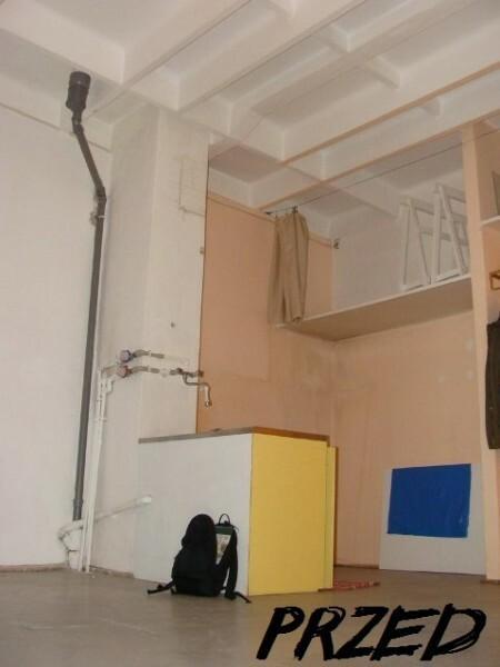 Mieszkanie powstało w dawnej pracowni plastycznej