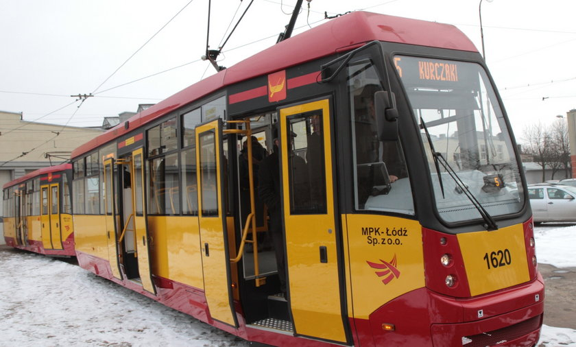Nowy tramwaj z Łodzi.