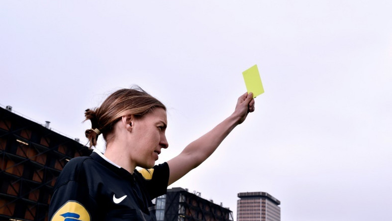Stephanie Frappart will become the first female referee in France's Ligue 1 when she takes charge of Sunday's game between Amiens and Strasbourg