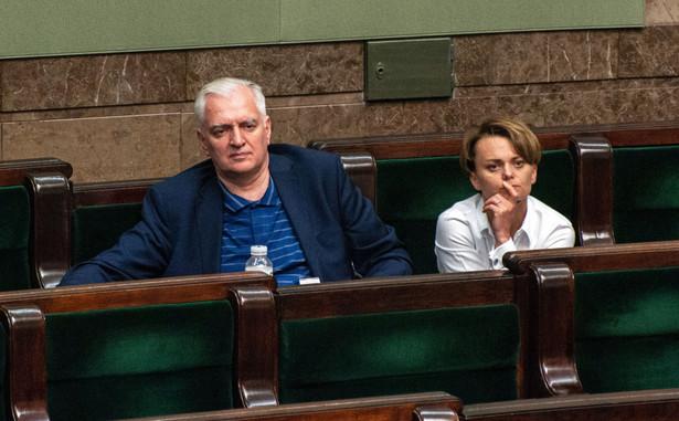 Zarówno Jarosław Gowin, jak i Zbigniew Ziobro są przeciwni pozbawianiu ich ugrupowań jednego resortu