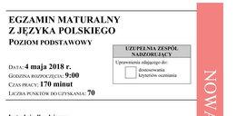 Matura 2018: Polski. Odpowiedzi i Arkusze CKE. Język polski [ODPOWIEDZI]