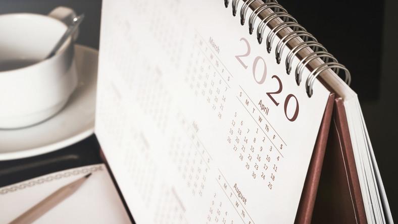 kalendarz, data, plan, rok, tydzień, miesiąc. / fot. Shutterstock