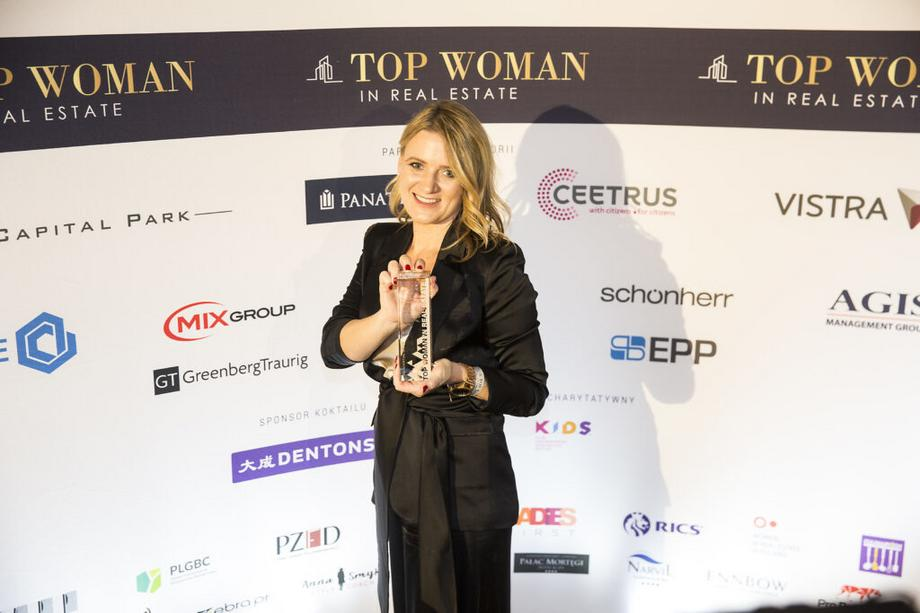Łucja Rosiak – laureatka Top Woman in Real Estate w kategorii Residential Sales