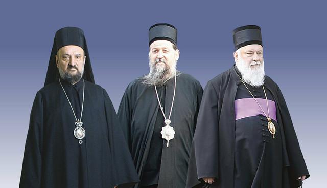 Vladike Vasilije, Pahomije i Filaret