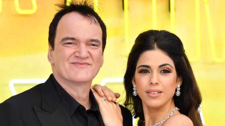 Quentin Tarantino i Daniella Pick