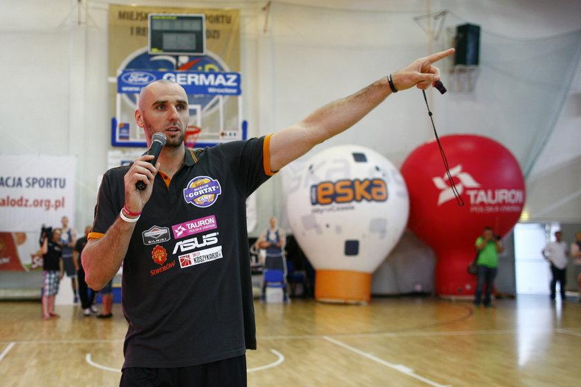 Koszykarz Marcin Gortat