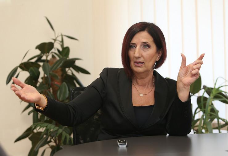 Ranka Misic predsednica Saveza sindikata RS