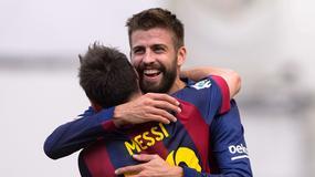 Gerard Pique wziął Lionela Messiego na przejażdżkę