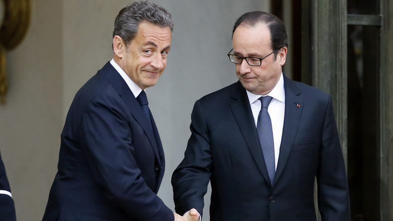 Nicolas Sarkozy i Francois Hollande