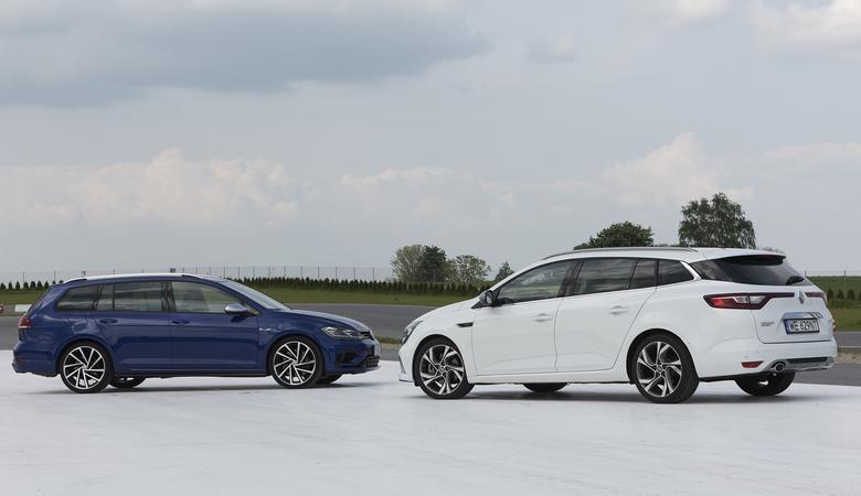 Renault Megane GT vs. VW Golf R