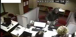 Policja poszukuje sprawcy napadu na bank