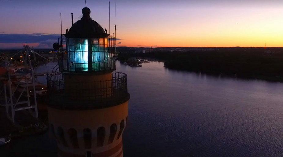 Oko kamery będzie podglądało statki wpływające do portu w Świnoujściu