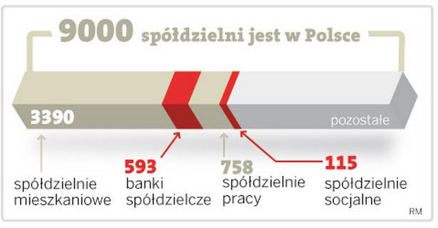 900 spółdzielni jest w Polsce