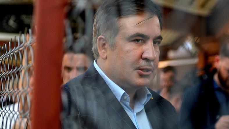 Były prezydent Gruzji i były gubernator Odessy Micheil Saakaszwili