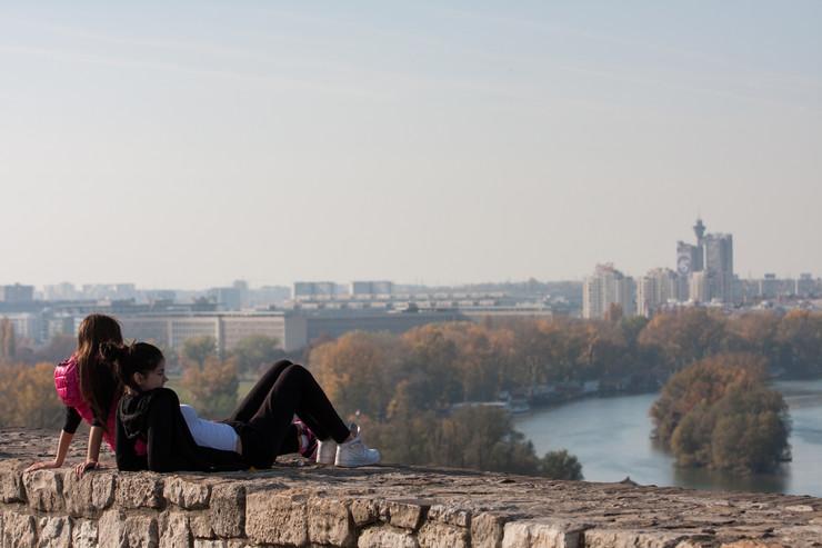 Jesen, lepo vreme, Beograd