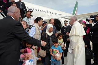 Grecja: Wielu migrantów liczy, że słowa papieża znajdą odzew na świecie