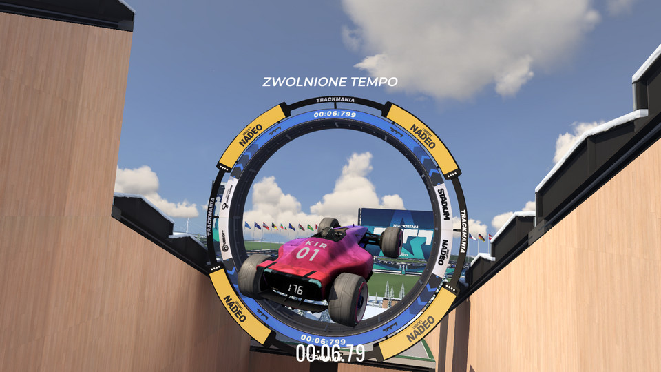 Trackmania (2020) - screenshot z wersji PC